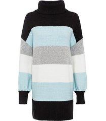 maglione lungo a fasce (nero) - bodyflirt