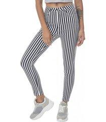 jeans print super high rise skinny mujer rayas corona