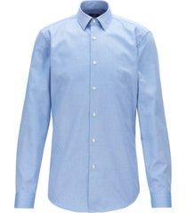 boss men's isko travel line slim-fit cotton shirt