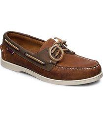 notch båtskor skor brun sebago