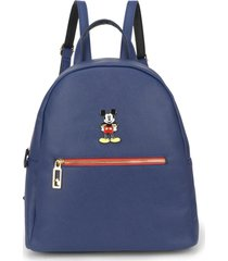 mini mochila luxcel mickey 78458 azul