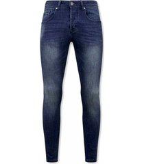 skinny jeans true rise spijkerbroek stretch d