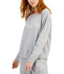jpr studio studded cotton sweatshirt