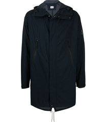 c.p. company straight-fit jacket - blue