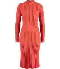 abito midi in maglia (rosso) - bpc bonprix collection