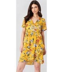 rut&circle eleonor wrap dress - multicolor,yellow