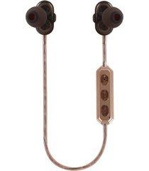 audifonos bluetooth, m2 auriculares audifonos bluetooth manos libres  auriculares estéreo inalámbricos auriculares de música aptx auriculares de micrófono hd magnetoscopio para todos los teléfonos (oro)