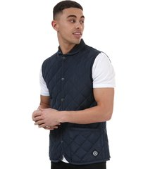 mens pier quilted gilet