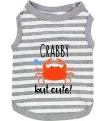 parisian pet crab tee dog t-shirt