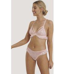 na-kd lingerie spetstrosor - pink