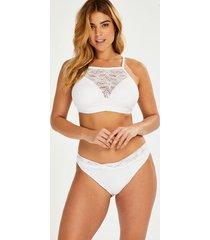 hunkemöller etta virkad rio bikini-underdel vit