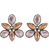 sadie orchid ballet stud earrings
