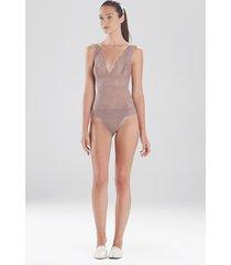 natori loren lace bodysuit, lingerie, women's, size m