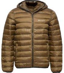 hooded jacket fodrad jacka brun champion