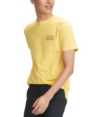 tommy hilfiger men's performance stretch logo t-shirt
