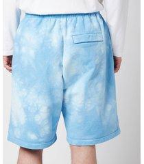 martine rose men's barambo shorts - light blue - l