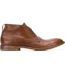 moma north cape ankle boots - brown