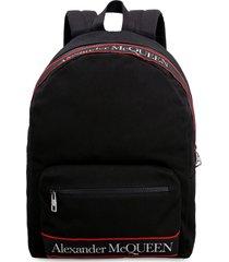 alexander mcqueen metropolitan selvedge canvas backpack