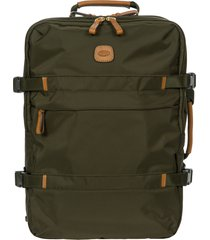 men's bric's x-travel montagna travel backpack - green