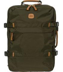 men's bric's x-travel montagna travel backpack - green