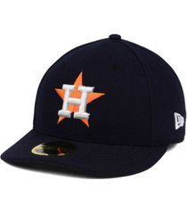 new era houston astros low profile ac performance 59fifty cap