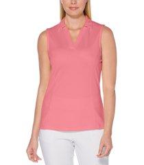 pga tour women's airflow collared golf shirt