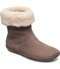 right shoes boots ankle boots ankle boot - flat brun camper