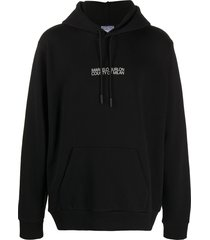 marcelo burlon county of milan cross man hoodie - black