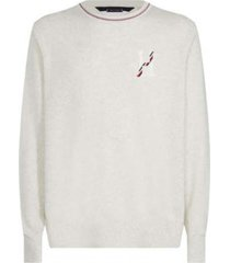 sweater texturado crudo tommy hilfiger