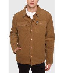 chaqueta o'neill marrón - calce regular