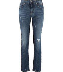 dolce & gabbana boyfriend-fit jeans