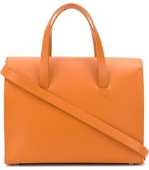 aesther ekme mini barrel tote bag - orange