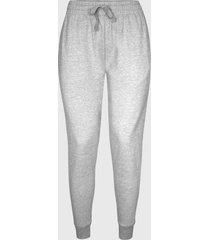 pantalon buzo algodon gris jaspeado andesland