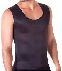 kit com 05 cintas redutora masculina e postural slim fitness   preta - preto - masculino - dafiti