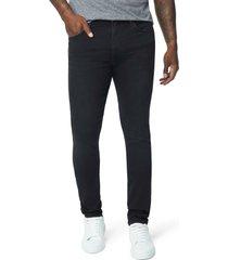 men's joe's the dean slim straight leg jeans, size 32 - black