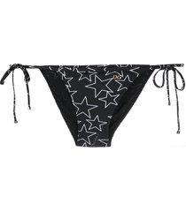 dolce & gabbana star print bikini bottoms - black