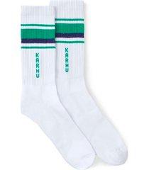 karhu tubular 87 socks | white/green | ka00108-wug