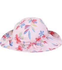chapéu infantil gap bebê floral