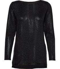 blouse blouse lange mouwen zwart ilse jacobsen