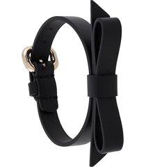red(v) sandie bracelet - black