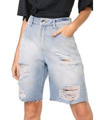 bermuda jeans my favorite thing(s) reta destroyed azul