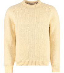 our legacy crew-neck wool sweater