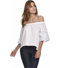 blusa primia brisa blanco