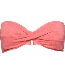 twist bandeau bikinitop roze seafolly