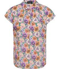 3419 - prosi top s blouses short-sleeved multi/patroon sand