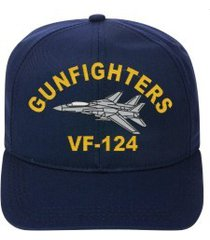 vf-124 gunfighters   f-14 tomcat  direct embroidered cap    new