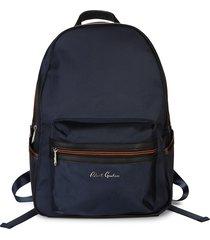 robert graham men's chiron backpack - navy