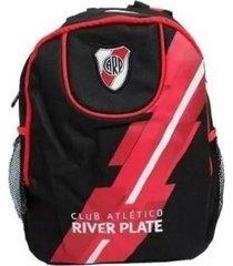 mochila roja river club atletico river plate