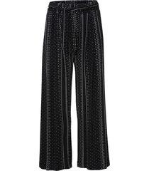 pantaloni culotte in viscosa sostenibile (nero) - bodyflirt