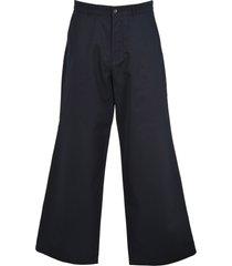 balenciaga balenciaga wide-leg track pants